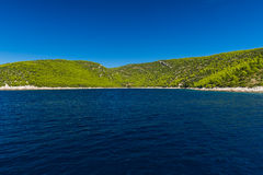 Croatian Island Brac. Royalty Free Stock Photo