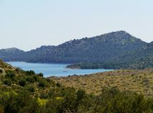 The Croatian island Dugi Otok Royalty Free Stock Photo