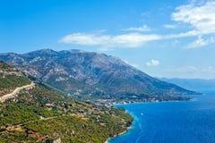 Croatian landscape Royalty Free Stock Image