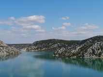 Croatian landscape in Dalmatia