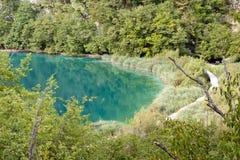 Croatian landscape - Plitvice National Park. Royalty Free Stock Photo