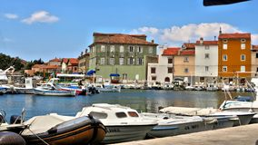 Croatian marina Royalty Free Stock Photo