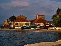 Croatian marina 11 Royalty Free Stock Images