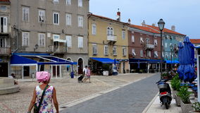 Croatian marina Royalty Free Stock Photos