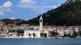 Croatian marina Royalty Free Stock Photo