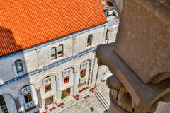 Croatian medieval architecture Stock Photography