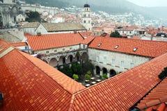 Croatian monastery Stock Images