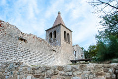 Croatian monastery Royalty Free Stock Photo