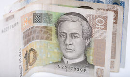 Croatian money Royalty Free Stock Photography
