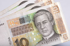 Croatian money Stock Photos