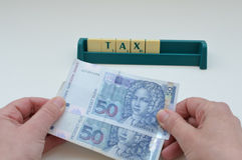 Croatian money,kuna Royalty Free Stock Images