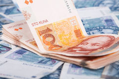 Croatian money, Kuna Stock Photos