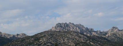 Croatian Mountain range Royalty Free Stock Image