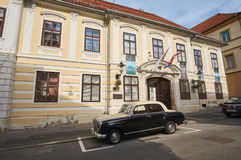 The Croatian museum of naive art in city Zagreb Royalty Free Stock Photo