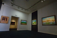 Croatian Naive Art Museum, Zagreb Stock Images
