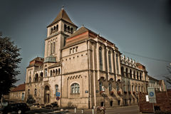 Croatian national hall building, Krizevci, Croatia Royalty Free Stock Image