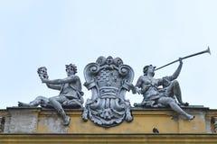 Croatian National Theater (detail), Zagreb, Croatia Stock Image