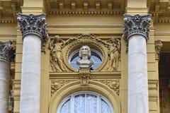 Croatian National Theater (detail), Zagreb, Croatia Stock Photography