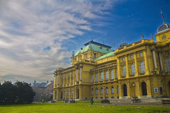 Croatian National Theater Stock Photography