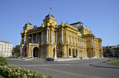 Croatian National Theater, Zagreb 2 Royalty Free Stock Photography