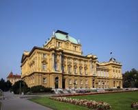 Croatian National Theatre. Zagreb, Croatia Royalty Free Stock Photo