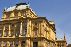 Croatian National Theatre Stock Photos