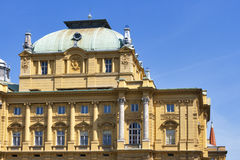 Croatian National Theatre Stock Photo