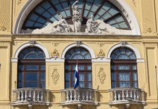 Croatian National Theatre building, Split Royalty Free Stock Images