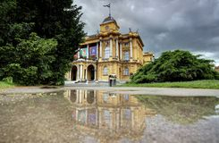 Croatian National Theatre royalty free stock photography