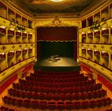 Croatian National Theatre in Sibenik old town royalty free stock photos