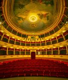 Croatian National Theatre in Sibenik old town royalty free stock images