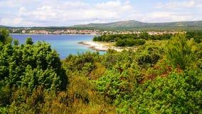 Croatian nature. This photo is from Rogozica Croatia Royalty Free Stock Photos