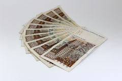 Croatian paper money Stock Image
