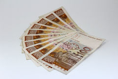 Croatian paper money kuna Stock Photo