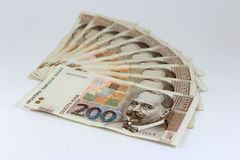 Croatian paper money kuna Stock Image