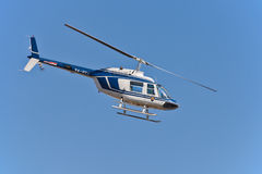 Croatian police helicopter Bell 206 Stock Images