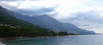 Croatian Riviera 2. Croatian Riviera, Central Dalmatia, Croatia. The picture was made on June 26, 2011 royalty free stock photos
