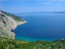 Croatian Riviera 1. Croatian Riviera, Central Dalmatia, Croatia. The picture was made on June 28, 2011 stock image