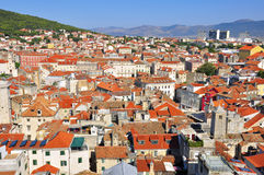 Croatian roofs Stock Image