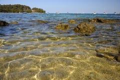 Croatian Sea near Rovinji Royalty Free Stock Photography