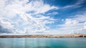 Croatian sea Pag island Royalty Free Stock Photo