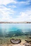 Croatian sea Pag island Stock Photo