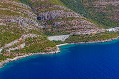 Croatian seascape Royalty Free Stock Photo