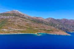 Croatian seascape Stock Photos