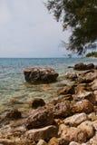 Croatian seascape Royalty Free Stock Image