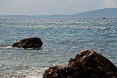 Croatian seascape Royalty Free Stock Photos