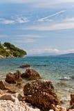 Croatian seascape Stock Images