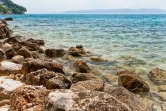 Croatian seascape Stock Image