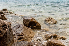 Croatian seascape Stock Photography