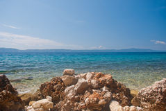 Croatian seascape Stock Photo